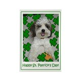 St. Patrick's Day Rectangle Magnet