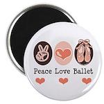 Peace Love Ballet Ballerina 2.25