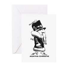 Agatha Christie Greeting Cards (Pk of 10)