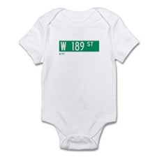 189th Street in NY Infant Bodysuit