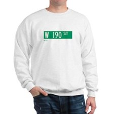 190th Street in NY Sweatshirt