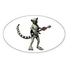 Lemur Guitar Decal