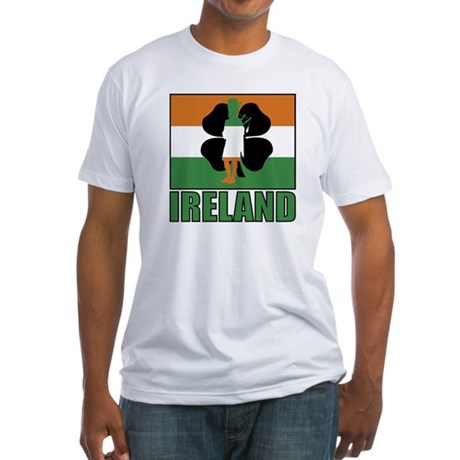 Irish Flag Fitted T-Shirt