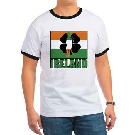 Irish Flag Ringer T