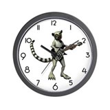 Lemur Guitar Wall Clock