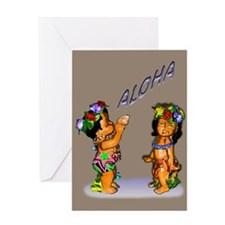 children aloha Greeting Card