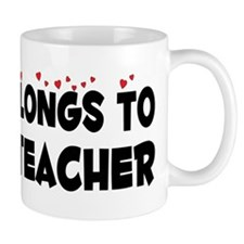 Belongs To A Yoga Teacher Mug