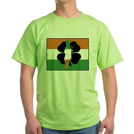 Irish Flag Green T-Shirt