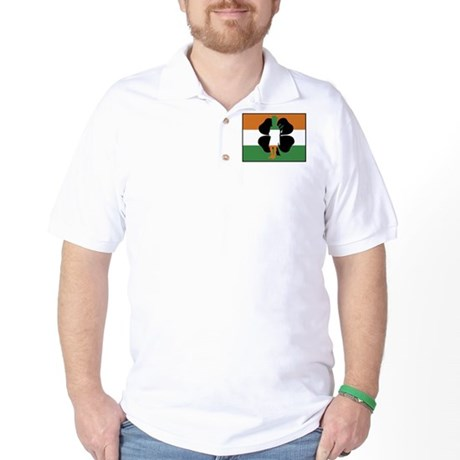 Irish Flag Golf Shirt
