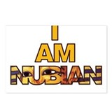 I AM NUBIAN Postcards (Package of 8)