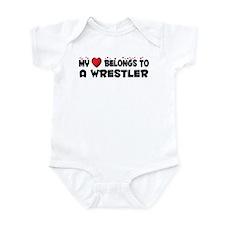 Belongs To A Wrestler Infant Bodysuit