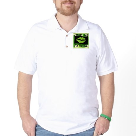Kiss me I'm Irish Golf Shirt