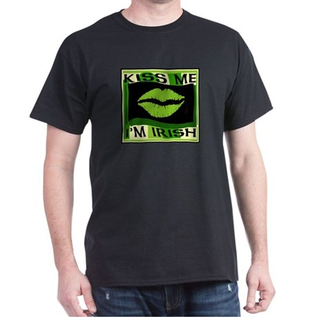 Kiss me I'm Irish Dark T-Shirt