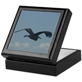 Blue Heron Keepsake Box