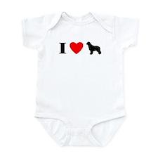 I Heart Newfoundland Baby Bodysuit
