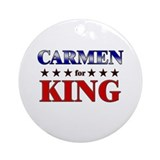 CARMEN for king Ornament (Round)