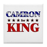 CAMRON for king Tile Coaster