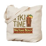 Daytona Beach Tiki - Tote or Beach Bag