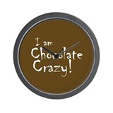 Chocolate Crazy Wall Clock