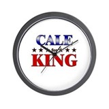 CALE for king Wall Clock