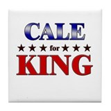 CALE for king Tile Coaster