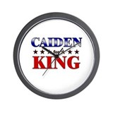 CAIDEN for king Wall Clock