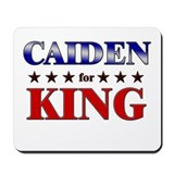 CAIDEN for king Mousepad