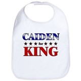 CAIDEN for king Bib
