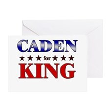 CADEN for king Greeting Card