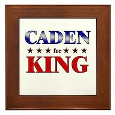 CADEN for king Framed Tile