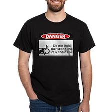 Danger. Do not hold the wrong T-Shirt