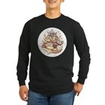 Cookie Lover Long Sleeve Dark T-Shirt