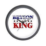 BRYSON for king Wall Clock