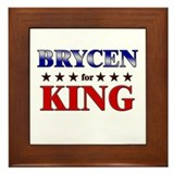 BRYCEN for king Framed Tile