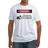 Danger. Do not hold the wrong Shirt