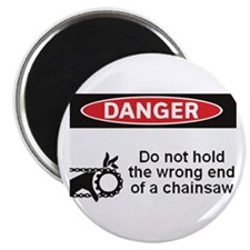 """Danger. Do not hold the wrong 2.25"""" Magnet (100 pa"""