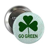"Go Green 2.25"" Button"