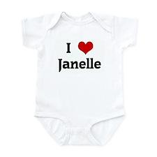 I Love Janelle Onesie