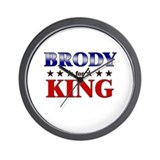 BRODY for king Wall Clock