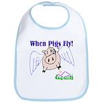 When Pigs Fly Bib