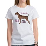 "Vizsla ""solid as a rock"" Tee"