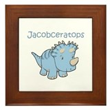 Jacobceratops Framed Tile