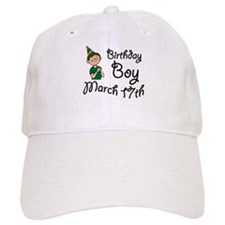 Birthday Boy March 17th Baseball Cap
