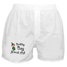 Birthday Boy March 17th Boxer Shorts