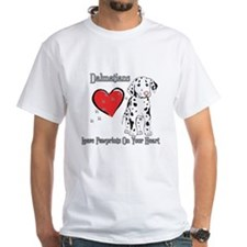 Dalmatians Leave Paw Prints Shirt