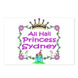 All Hail Princess Sydney Postcards (Package of 8)