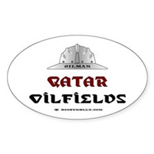 Qatar Oilfields Oval Decal