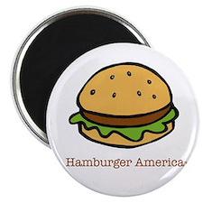 Cute Hamburger Magnet