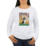 Spring / Collie Women's Long Sleeve T-Shirt