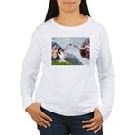 Creation / Collie Women's Long Sleeve T-Shirt